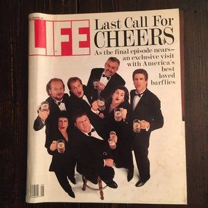 """Last Call for Cheers"" Life Magazine (May 1993)"